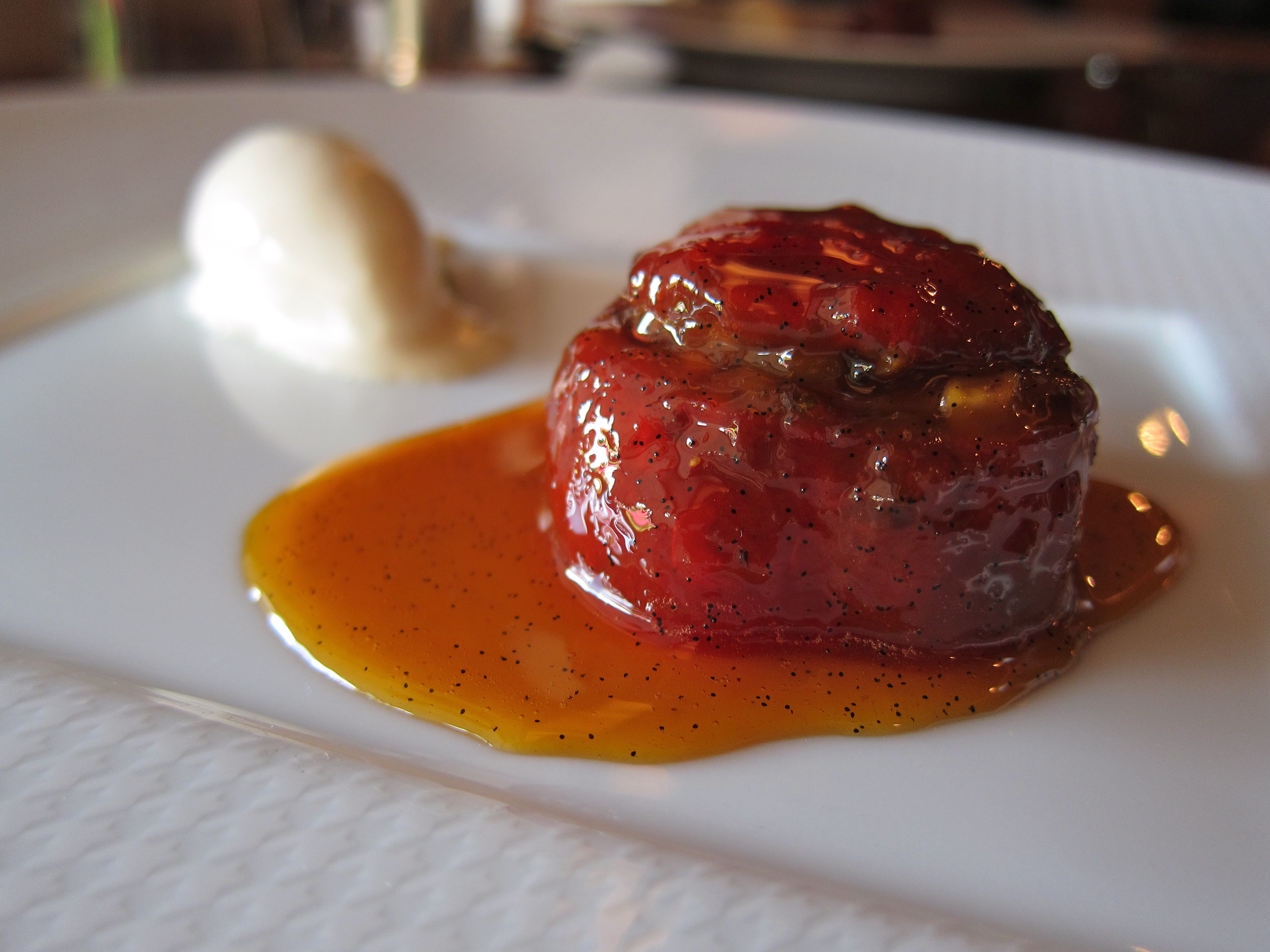 were one thing that wasn't right, it was the gorgeous candied tomato ...